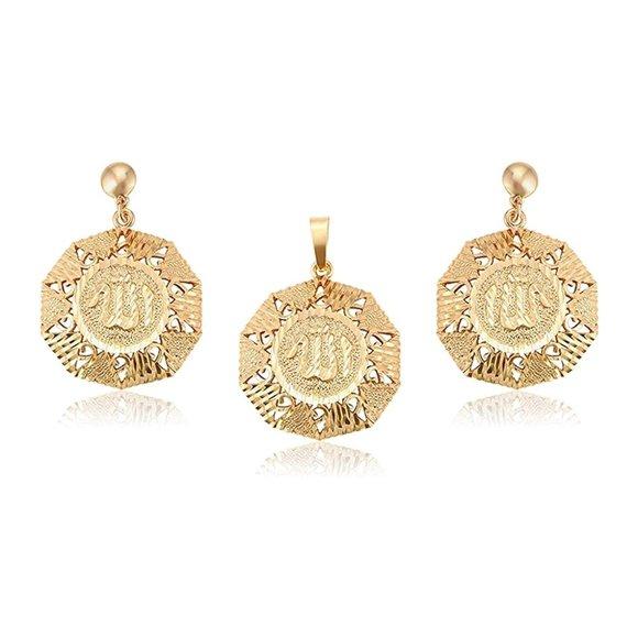 Charles Delon Pendant Earrings Jewelry Set